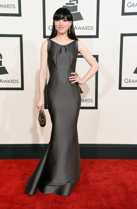 lena-hall-zac-posen-dress-grammys-2015-h724