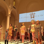 Laurel DeWitt Goes Full Out for NYFW